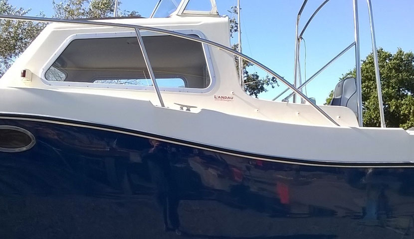Boat Cleaning AFTER